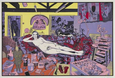 Grayson Perry, 'Reclining Artist', 2017