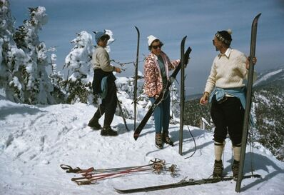 Slim Aarons, 'Sugarbush Skiing, Vermont (Aarons Estate Edition)', 1960