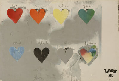 After Jim Dine, 'Look At Dine Exhibition Poster', 1970