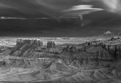 Mitch Dobrowner, 'Nacreous over Badlands, Factory Badlands, Utah', 2019