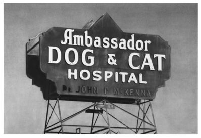 Eric Nash, 'Ambassador Dog & Cat Hospital', 2021