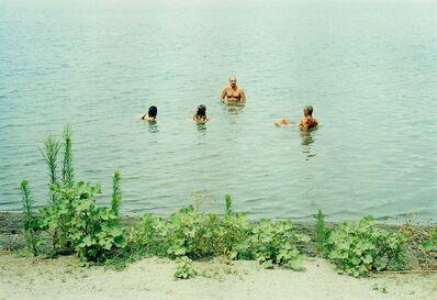 Grit Schwerdtfeger, 'Distanz:Badende', 2004