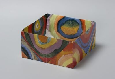 Pierre Bismuth, 'Origami boxes: one thing made of another, one thing used as another (Wassilij Kandinsky)', 2004