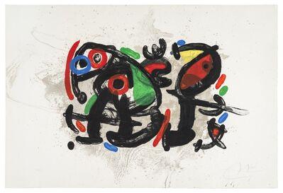 Joan Miró, 'Ronde de Nuit', 1970