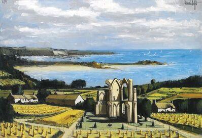 Bernard Buffet, 'Environs de Lannion, les ruines de la chapelle de Saint Augustin', 1974