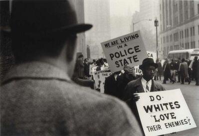 Gordon Parks, 'Protest Against Police Brutality, New York, New York', 1963