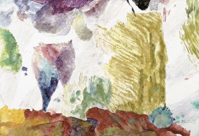 Max Weiler, 'Baumgruppe im Wind', 1988