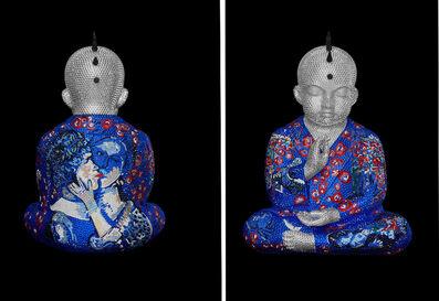 "Metis Atash, 'PUNKBUDDHA large ""WOWS"" feat. Chagall', 2019"