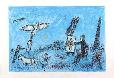 Marc Chagall, 'Le Peintre et son Double', 1981