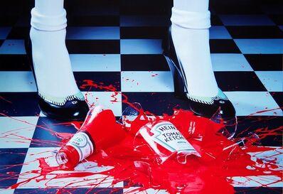 Miles Aldridge, 'A drop of red #2 dal Portfolio Carousel', 2001