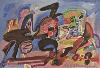 Lucebert, 'No Title', 1973