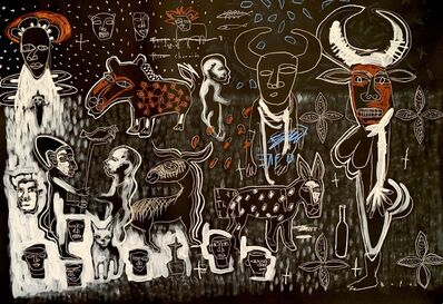 Gopal Dagnogo, 'Mythologie contemporaine n°2', 2019