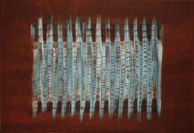 Lulwa Al-Khalifa, 'Mahogany and Turquoise', 2015
