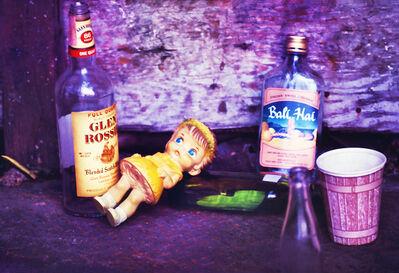 Mitchell Funk, 'Bowery Bum's Bottles ', 1969