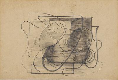 Amelia Peláez, 'Composición con manos y pies', circa 1934-35