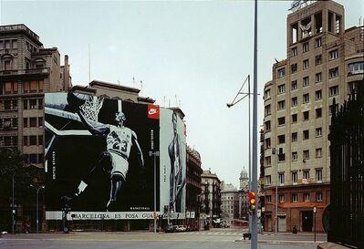 Max Regenberg, 'Air II # 2/92, LB System Barcelona', 1992
