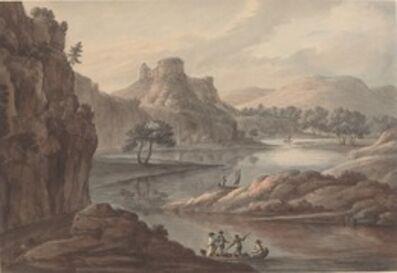 Robert Adam, 'River Landscape with a Castle', 1780s