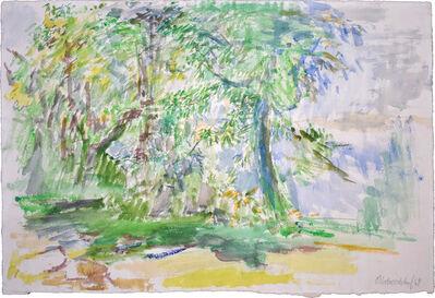 Oskar Kokoschka, 'Garden | Garten', 1964