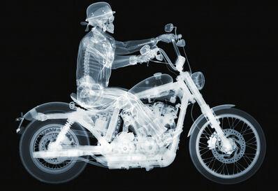 Nick Veasey, 'Harley Davidson 72 Rider AP', 2014