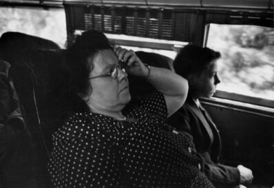 Esther Bubley, 'Bus Transportation Story, New York State, July, 1947', 1947