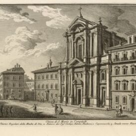 Giuseppe Vasi, 'Chiesa di S. Maria in Campitelli', 1747