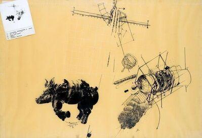 Vladimir Velickovic, 'Rhinocéros 5'