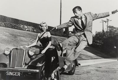 Frank Worth, 'Marilyn Monroe and Sammy Davis Jr., on the set of How to Marry a Millionaire', 1953-2004