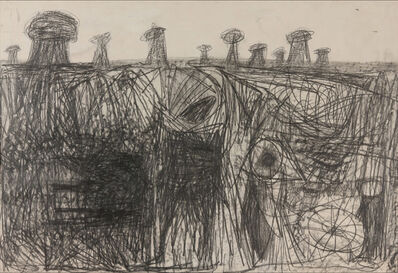 Sonia Gechtoff, 'October Drawing', 1955