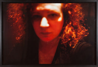 Nan Goldin, 'Self-Portrait, Red, Zurich', 2000