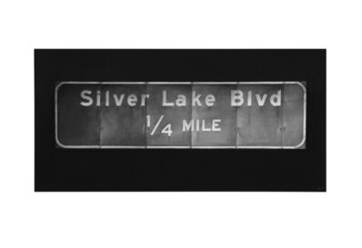 Eric Nash, 'Silver Lake Blvd', 2018