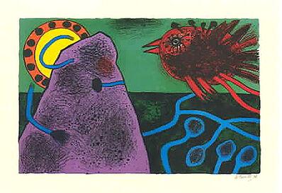 Guillaume Corneille, 'Aurore sur la montagne', 1991