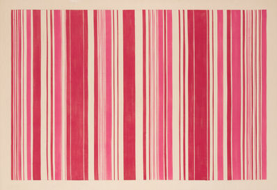 Gene Davis, 'Pink Gun', 1980