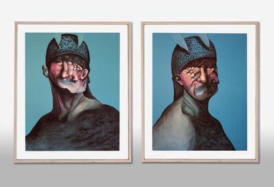 Pouya Afshar, 'Memories Transfigured I (Diptych)', 2018