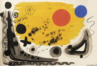 Alexander Calder, 'Spheres and Stars', 1953