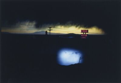 Ernst Haas, 'Western Skies Motel, Colorado, USA', 1978