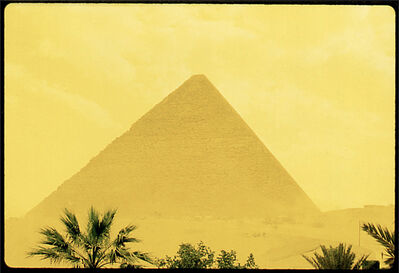 Bert Stern, 'Yellow Pyramid, Gyza', 1988