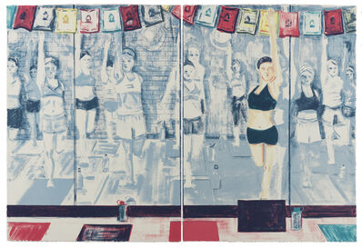 Stella Ebner, 'Hot Yoga', 2017