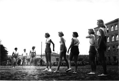 Fred Maroon, 'Girls' High School, Goteborg, Sweden ', 1950
