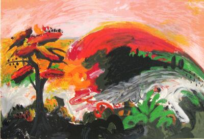 Yehouda Chaki, 'Spring Mountain', 1993