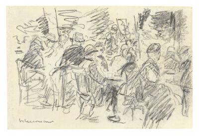 Max Liebermann, 'Im Biergarten (Wildbad im Schwarzwald)', 1893