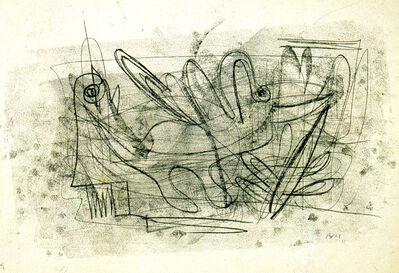Fritz Winter, 'Ohne Titel (fliegender Drache) / No title (flying dragon)', 1928