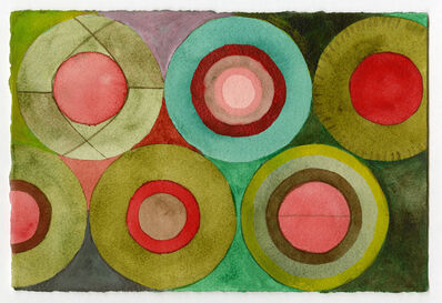 Tremain Smith, 'Green Red Circle Study', 2017