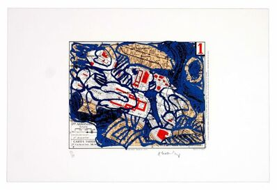 Pierre Alechinsky, 'Premier arrondissement (Paris)', 1983