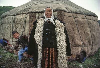 Cary Wolinsky, 'Yurt Woman', 1985