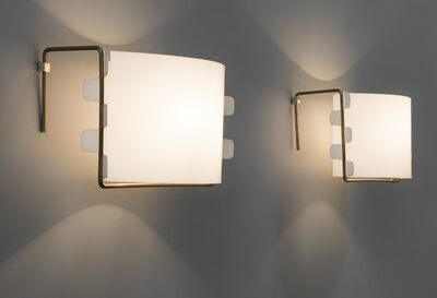 Joseph-André Motte, 'Pair of sconces M6', 1958