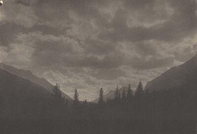 Adam Clark Vroman, 'Banff, Looking South', ca. 1909
