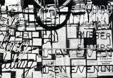 Ray K. Metzker, 'Philadelphia', 1962