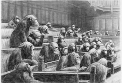 Mason Storm, 'Monkey Parliament II', 2021