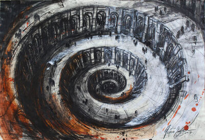 Gustavo Diaz Sosa, 'Dante´s hell serie', 2017