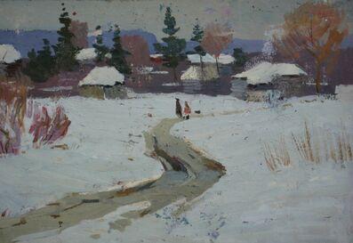 Vladimir Frolovich Stroev, 'Nice temperature', 1959